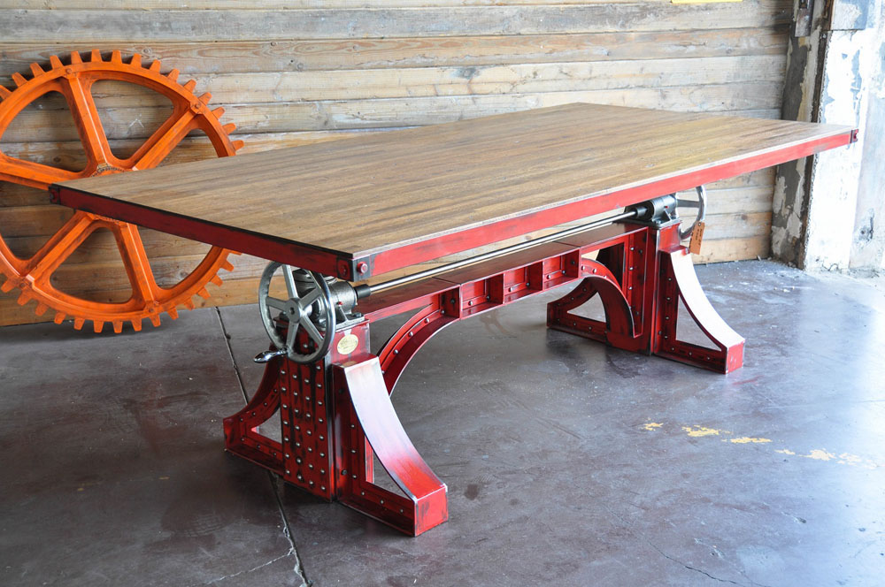 Les tables vintage par vintage industrial